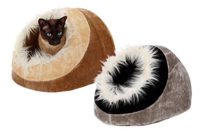 Karlie Katzenhöhle Mandy für Katzen und kleine Hunde z.B. Chihuahua