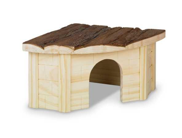 Woodland Nagerhaus - Eckhaus für Hamster, Mäuse, Meerschweinchen und Kaninchen